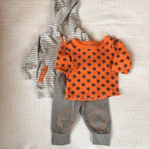 Isaac Mizrahi Baby Outfit, 3-6 months